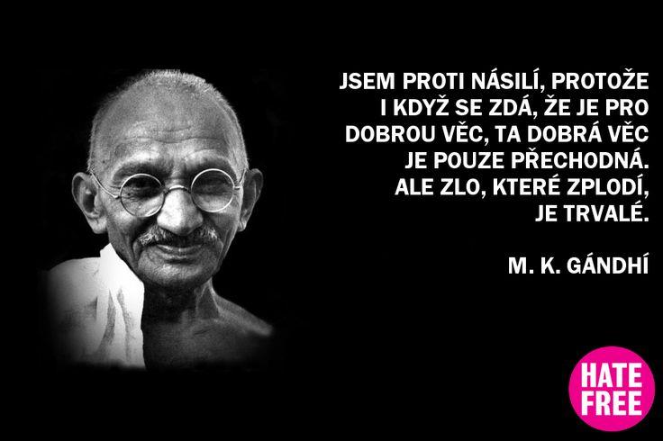 Něco na tom Gándhím bylo, že?