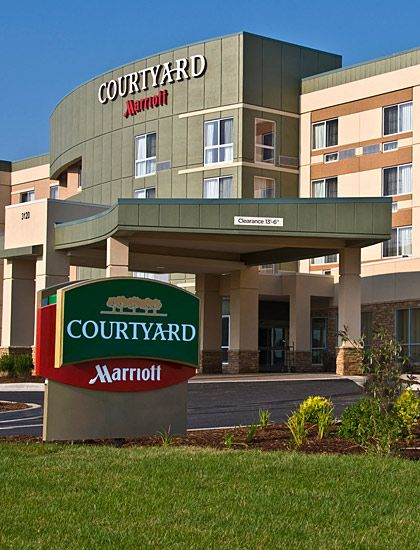 New Courtyard by Marriott coming October 2012! It is the first LEED certified hotel in Minnesota AND the first LEED v.2009 certified in the United States.