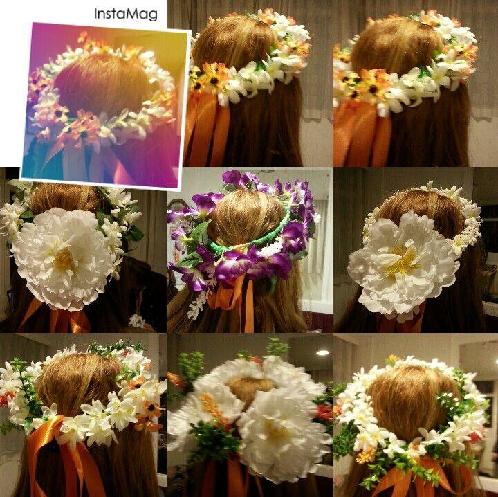 Portakal çiçeği Karnavalı tacları