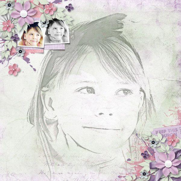 "Kit Aurélie Scrap ""My dear""  https://withlovestudio.net/blog/product/my-dear-kit/ Template Heartstrings Scrap Art / Photo TawnyNina via Pixabay"