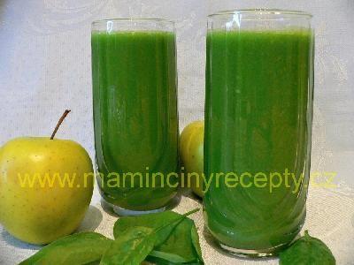 Špenátovo-jablečné smoothie