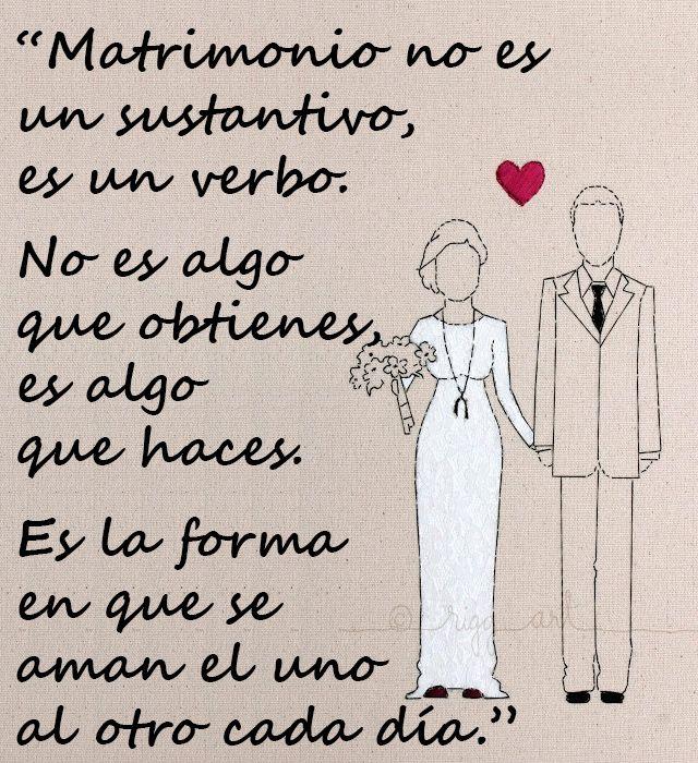 Matrimonio Definicion : La verdadera definición de matrimonio frases amor