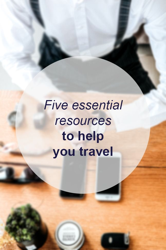 Five essential resources to help you travel // Miss Sweet Nothings