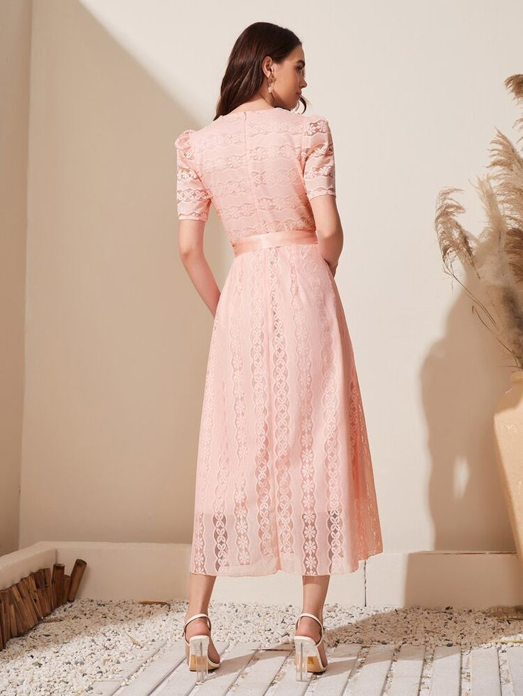 contrast doll collar a line dress shein usa in 2021 dresses a