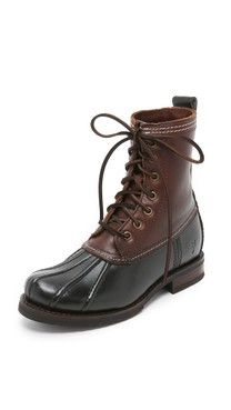 Frye Veronica Shearling Lined Booties