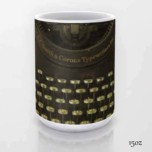 Smith & Corona Typewriter, coffee mug, Tea Mug, Photo Mug, Photography, Still Life Photography