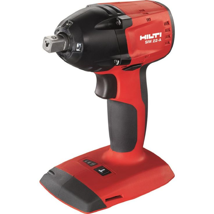 Hilti 22-Volt Lithium-Ion Cordless 3/8 in. Impact Wrench SIW 22 Tool Body