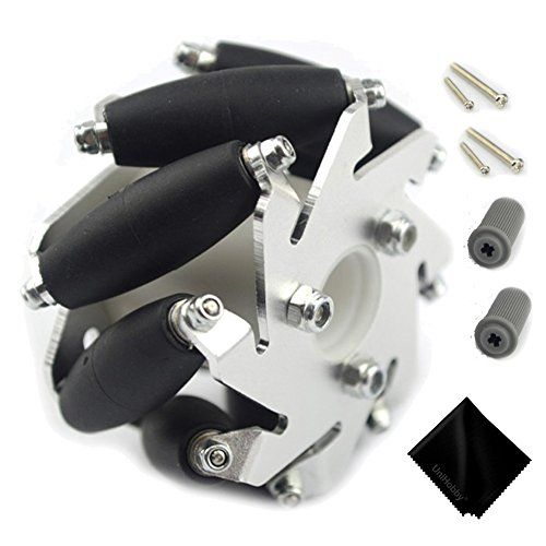#wow #UniHobby UH143 60mm Mecanum Wheel is the smallest size mecanum wheel in all of our mecanum wheels. It is a robot compatible mecanum wheels, it comes with a...