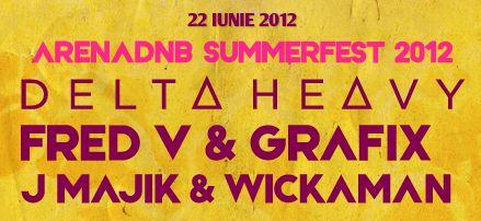 arena dnb summerfest 2012, 22 iunie, Arenele Romane, Bucharest, Romania