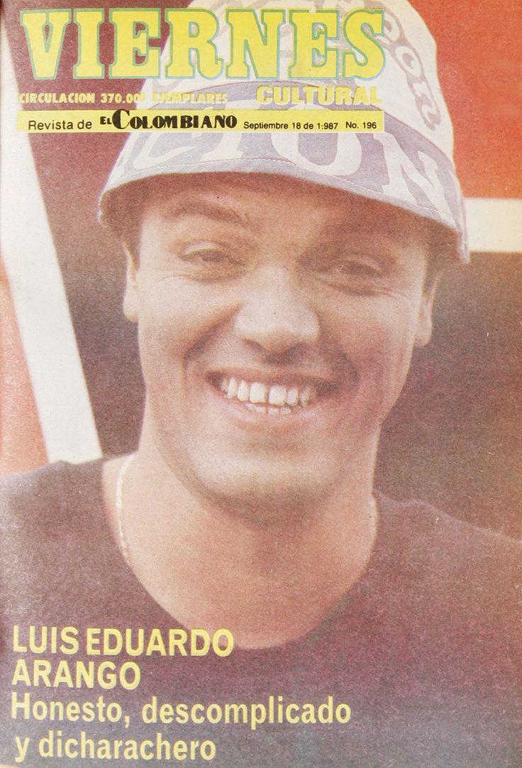 Luis Eduardo Arango en #RevistaViernes30Años.