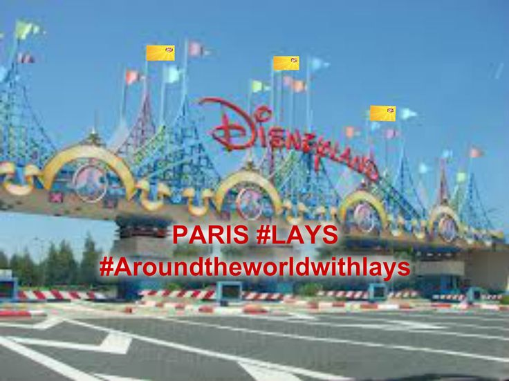 #AroundtheWorldwith Lays South Africa   #PARIS