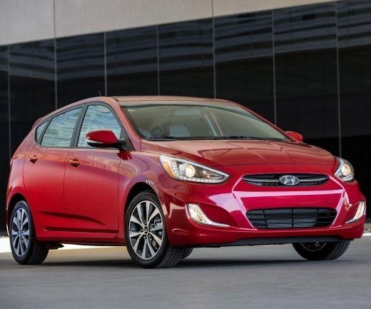 2017 Hyundai Accent Hatchback Interior