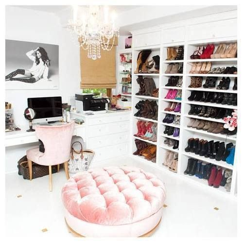 You can never have enough shoes...