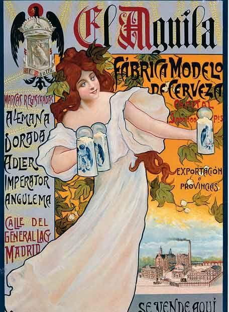 Creada en 1900, junto a las otras grandes cerveceras españolas: Mahou (1890), Cruz del Campo (1904) y Damm (1910). Hoy pertenece a Amstel.