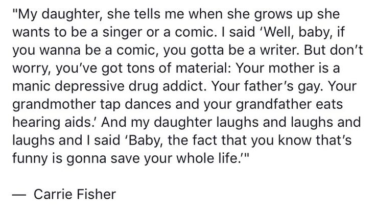 I love Carrie Fisher - forever and always