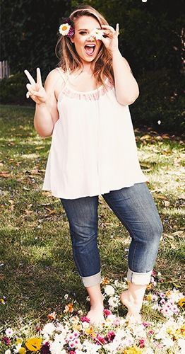 """cute casual outfit. """"if you follow my Curvy Girl's Spring/Summer Closet, make sure to follow my Curvy Girl's Fall/Winter Closet."""" http://pinterest.com/blessedmommyd/curvy-girls-fallwinter-closet/"""