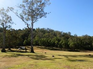 Campground at Andrew Drynan Park, Southern #Queensland