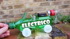 Cómo hacer paso a paso un sencillo coche eléctrico casero de juguete.