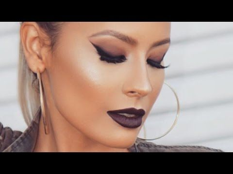 Sparkle Bronze Smokey Eye - Glowy Skin - Makeup I Wore to the Golden Globes - YouTube