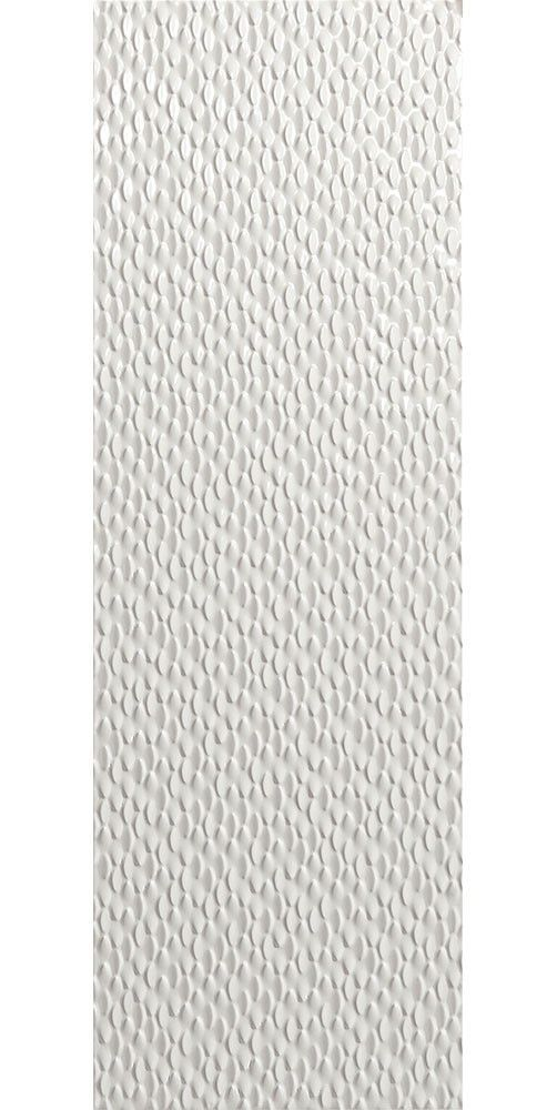 Elliptic White Tiles Elliptic Tiles 750x250x8mm Tiles