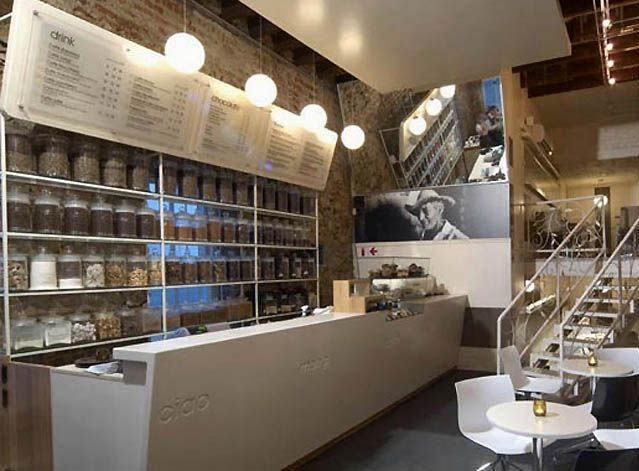 Coffee shop interior design coffee shop interior for Shop interior decoration