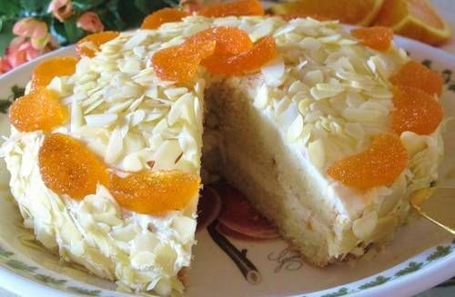 Постный торт - рецепт с фото / Простые рецепты
