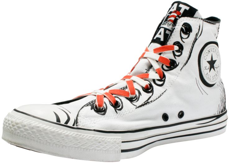 Womens Dr Seuss Converse Shoes