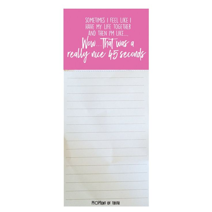 Magnetic Notepad - 45 Seconds