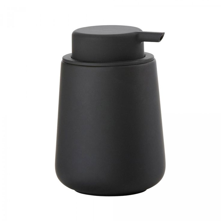 Designstuff offers a wide online selection of Scandinavian bathroom accessories, including this stunning black soap dispenser by Zone Denmark.