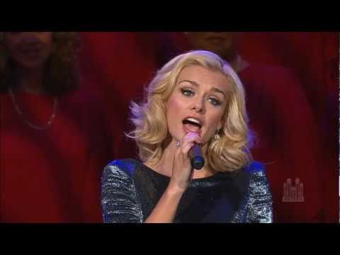 "Katherine Jenkins sings ""You'll Never Walk Alone"" with the Mormon Tabernacle Choir"