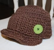 Newsboy cap, custom order your own size and colour $15.00. Also available in summer cotton.  AngelMouse Knitwear on Facebook