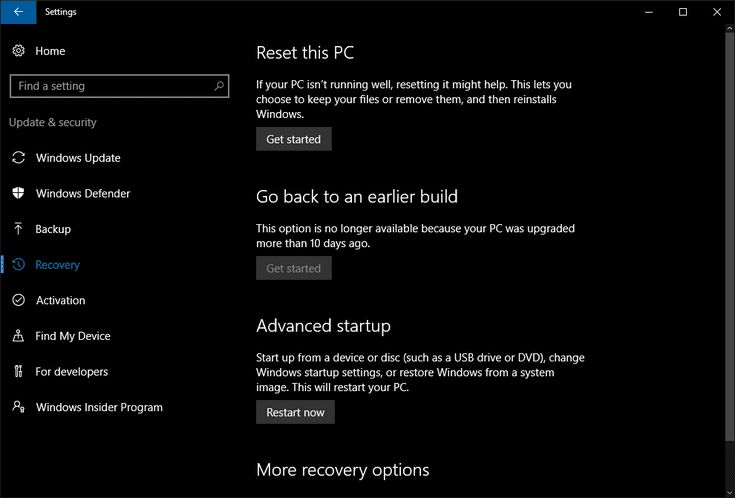 Windows 10 PC Running Slow? Try Resetting Windows.