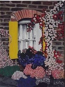 Secret Window (November,2013) Oil on Canvas (Óleo sobre Tela) / 80 cm x 130 cm /  Buy here / Comprar Aquí http://www.heidisaigg.com/