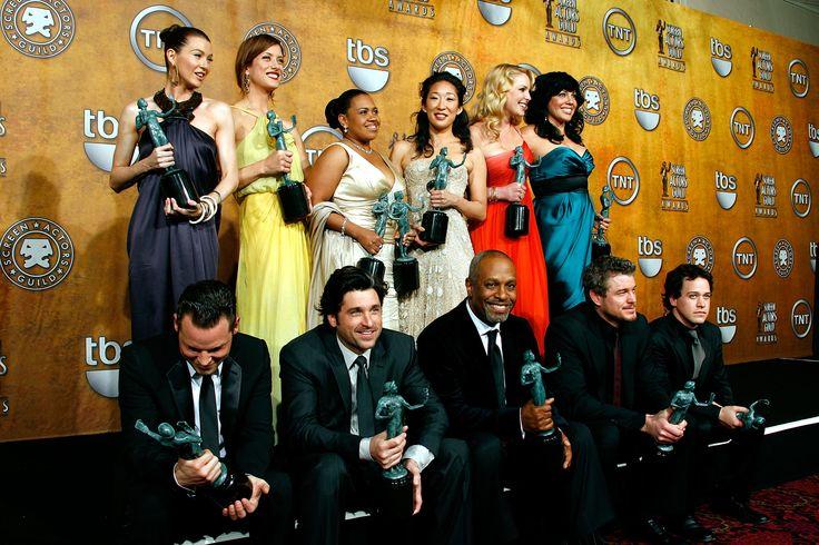 the Grey's Anatomy cast at the SAG awards 2009