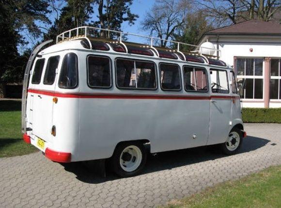 1958 Mercedes Benz 319 Panoramabus Fensterbus Camp Tour Bus