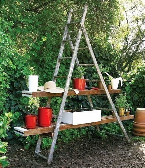 77 Best Images About Vintage Ladders On Pinterest