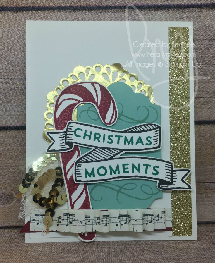 Christmas Moments   Stampin' Up!   Banners for Christmas #literallymyjoy…