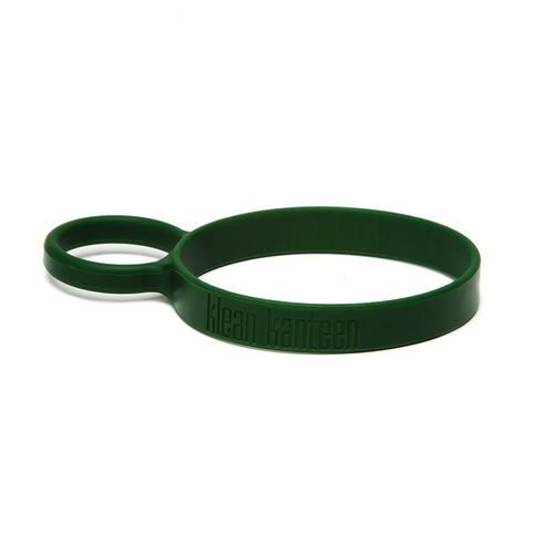 Klean Kanteen Silicone Pint Cup Ring Dark Green Removable Carrying Loop Handle