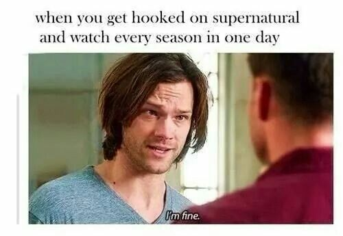 Yes very true. Did this when my husband was before and after Bootcamp 2013. Since he was gone half the time I spent my time on tv shows like Supernatural. I will always be a loyal girl for him. - Lourdes