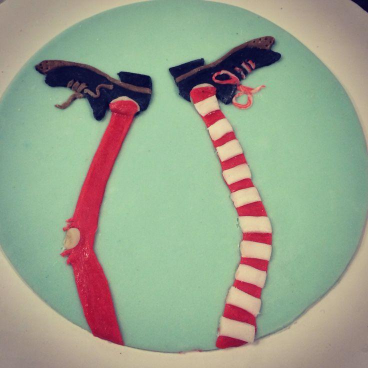 Pippi Longstocking cake!