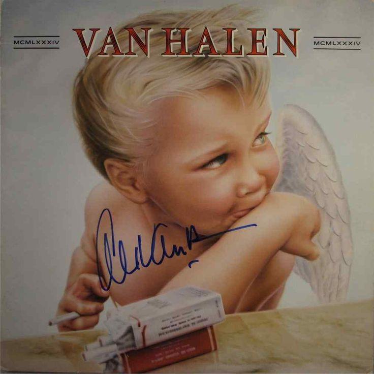 Αποτέλεσμα εικόνας για 1984-Van Halen vinyl cover