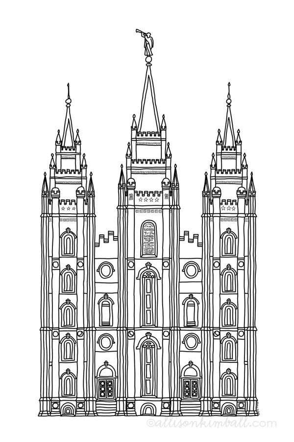 It's just an image of Lively Temple Drawing Ideas