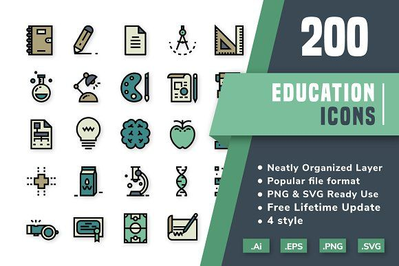 200 Education Icon Pack With Images Education Icon Icon Pack
