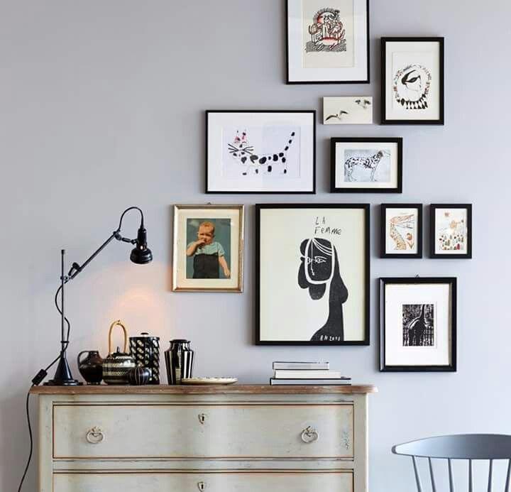 Wie man Bilder aufhängen kann...