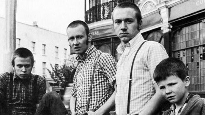 early skinhead style