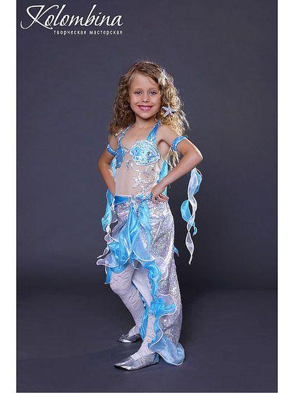 Платье русалки детский