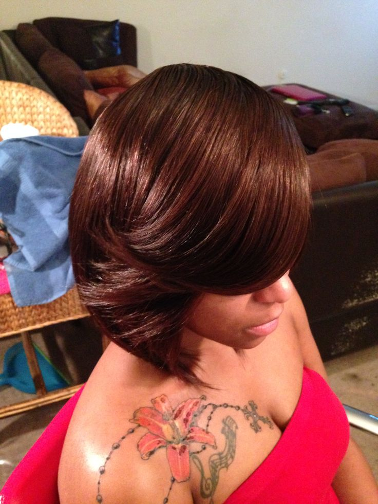 Bob Cut Full Sew in | My Full Sew ins | Pinterest | Bob