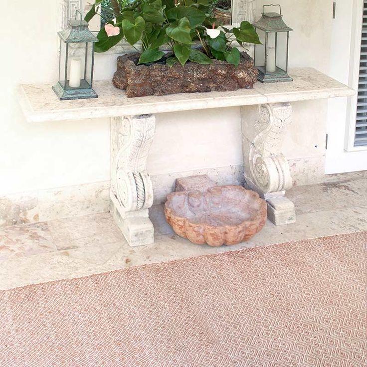 Dash & Albert Indoor/Outdoor Teppich Annabelle Cooper