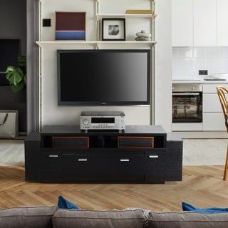 Shop for Furniture of America 60-inch Peyton Modern-tiered TV Stand. Get free shipping at Overstock.com - Your Online Furniture Outlet Store! Get 5% in rewards with Club O! - 17296043