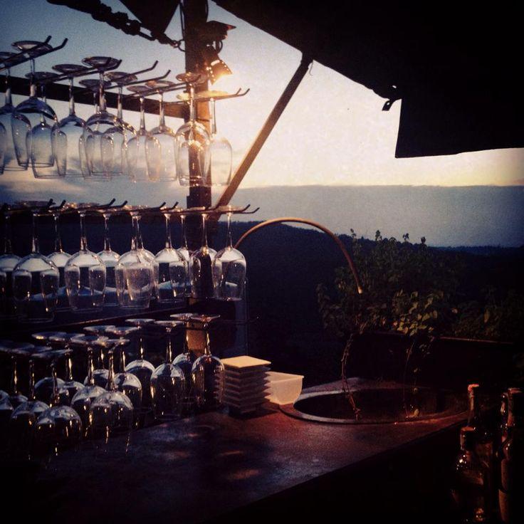 Villa Sparina Resort al tramonto - Gavi #socialfoodewine #alessandriamonferrato